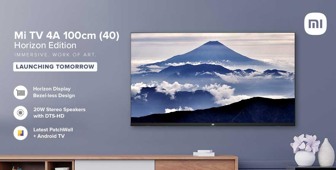 Mi Tv 40 Horizon Edition Price And Specifications