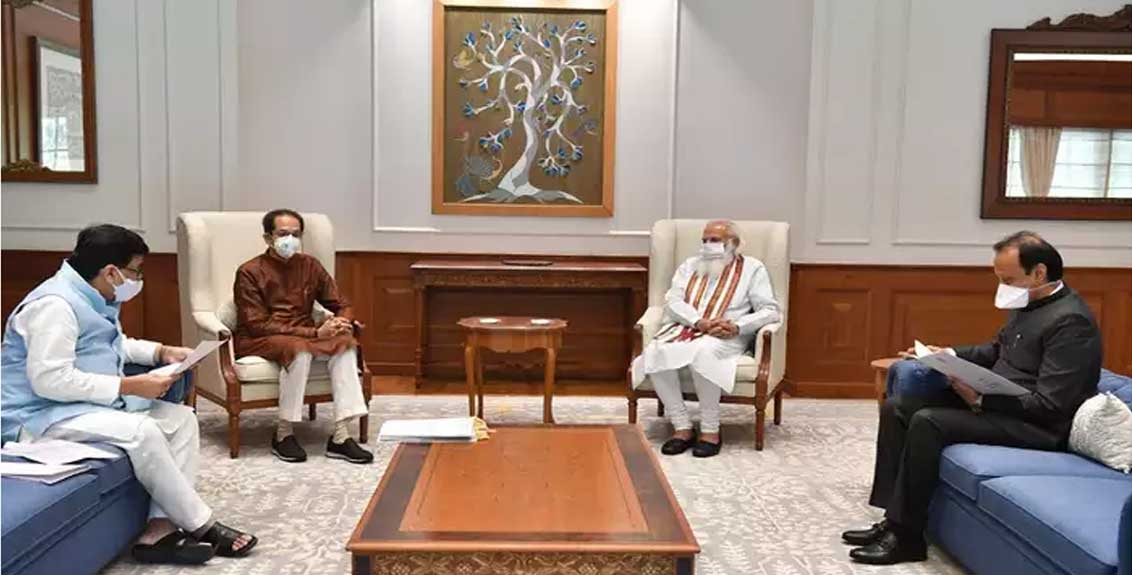 discussed major issues in the state with the prime minister hope for a positive decision chief minister uddhav thackeray