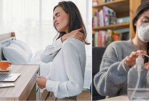 back pain in work from home
