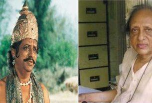 actor chandrashekhar vaidya mahamantri sumant of ramayan dies