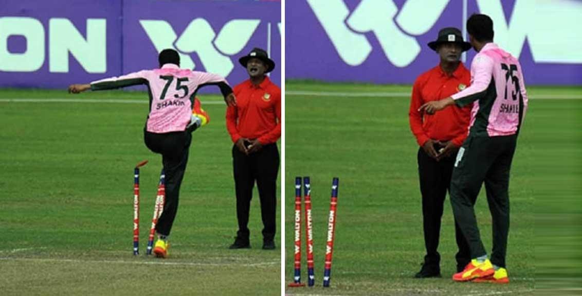 Bangladesh star cricketer Shakib Al Hasan punished for behavior