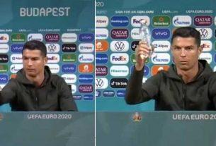 Coca Cola suffer $4 billion loss after Cristiano Ronaldo 'bottle' incident