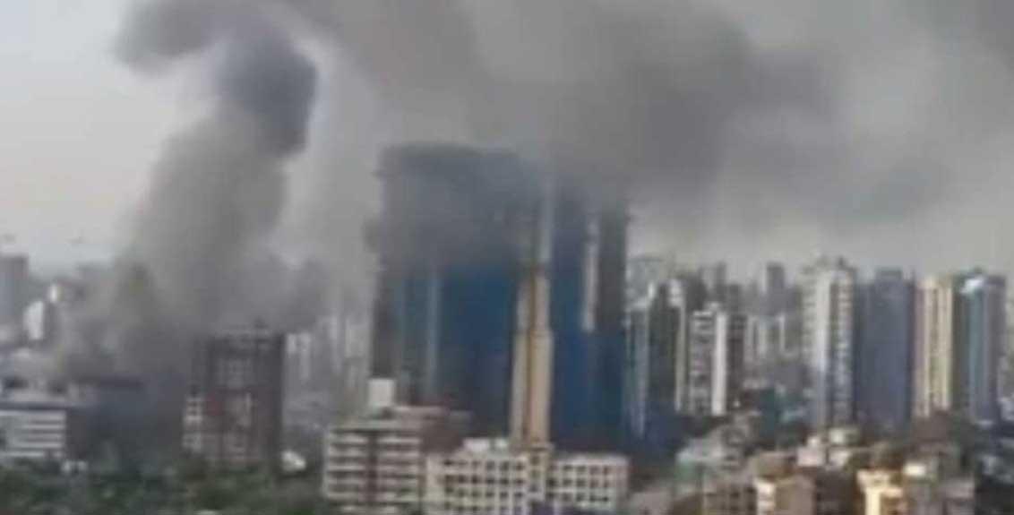 A Level 2 Fire Broke Out In Mumbai's Oshiwara
