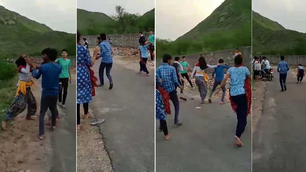 molestation girls beating boys in alwar rajasthan