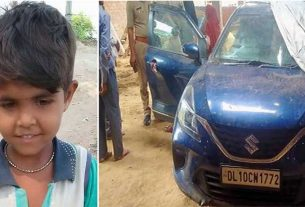 kanpur city kannauj girl child died due to suffocation in car after being locked inside