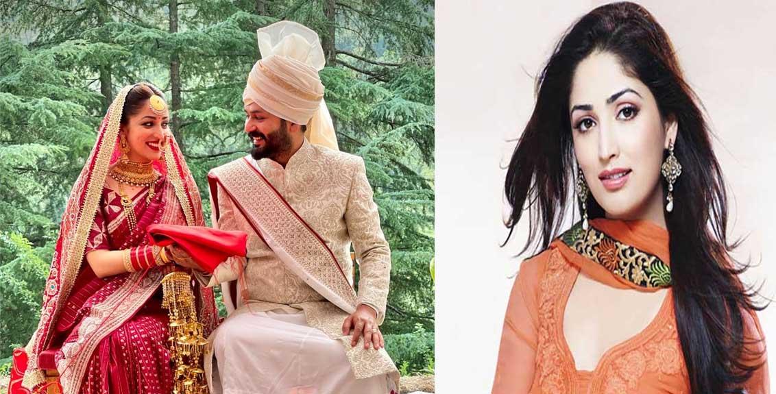 actress yami gautam ties the knot with best friend aditya dhar