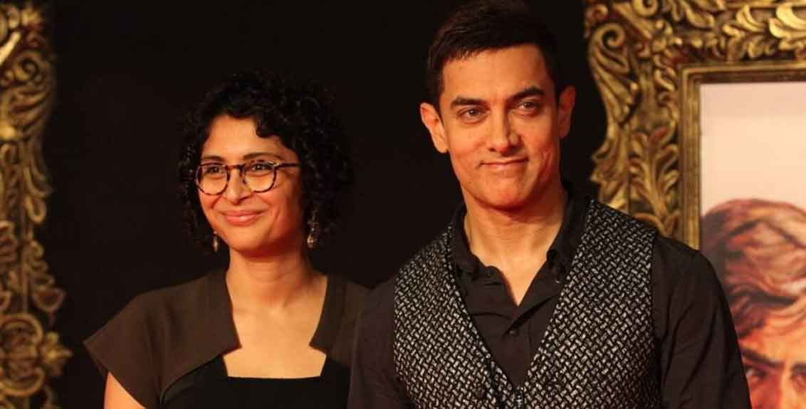Aamir Khan and Kiran Rao Announce They're Getting Divorced