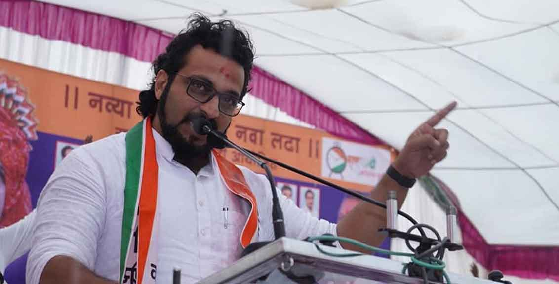 Uddhav Thackeray is the Chief Minister due to Sharad Pawar support says Amol Kolhe
