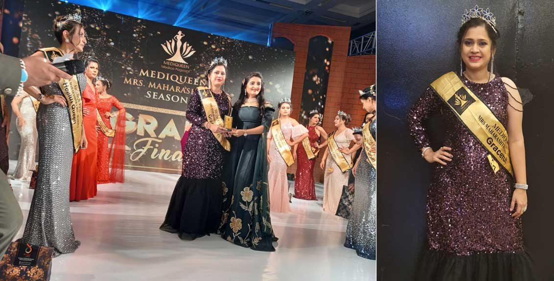 Dr. Kirti Shailesh Jalkote wins Graceful Medicine title
