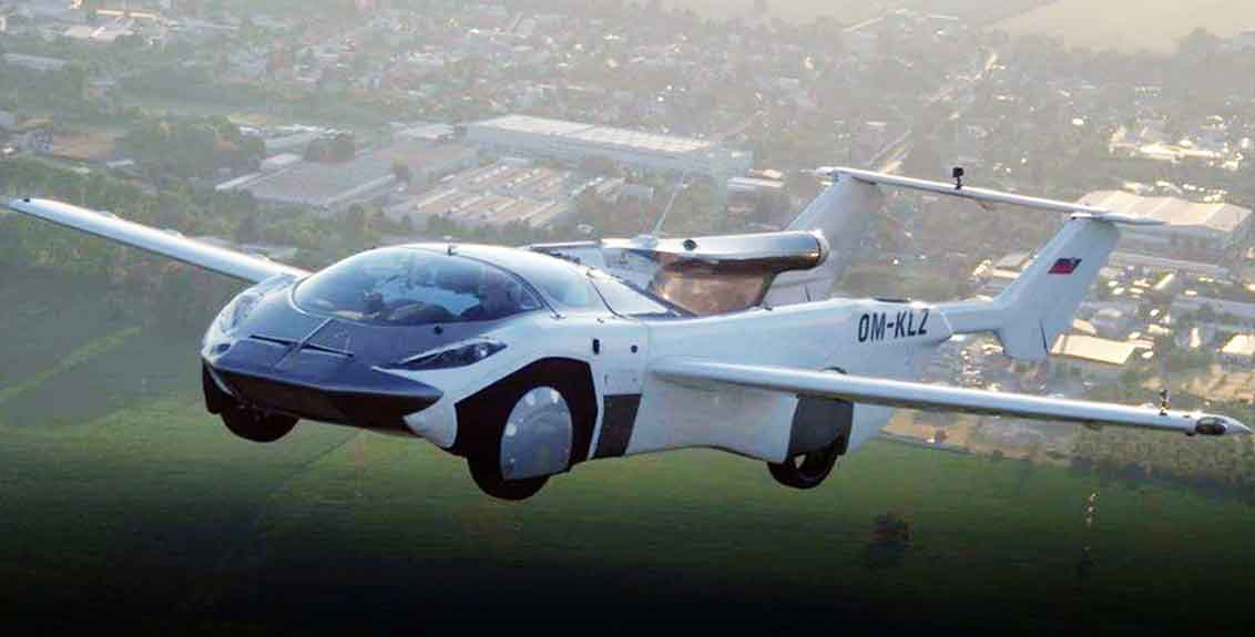 flying car called aircar launched and travelled amidst airports Completes Historic First Inter City Flight In Slovakia