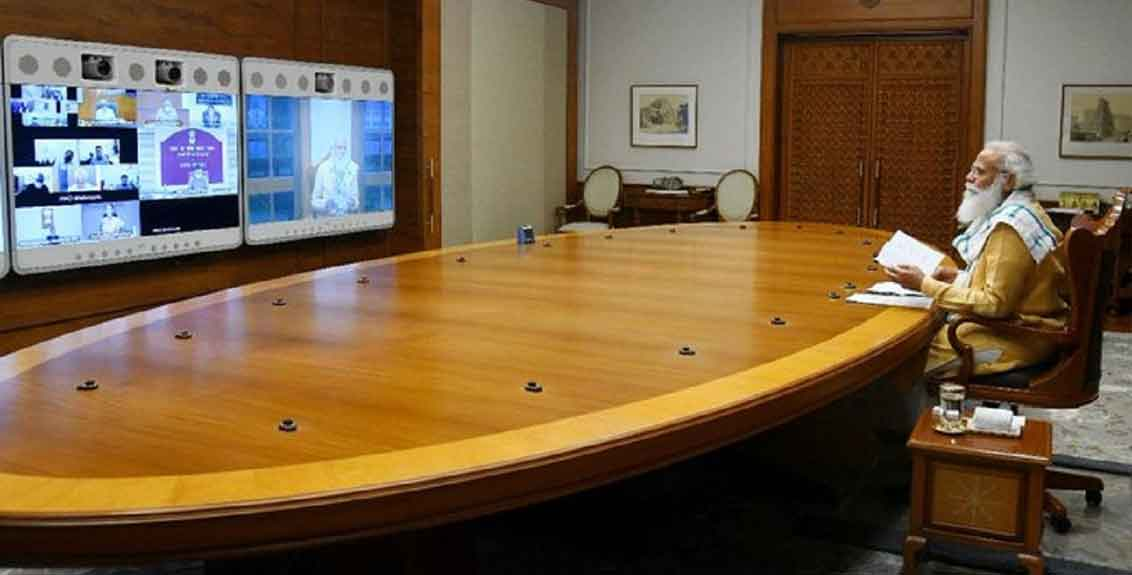 pm modi meeting with union council of ministers cabinet