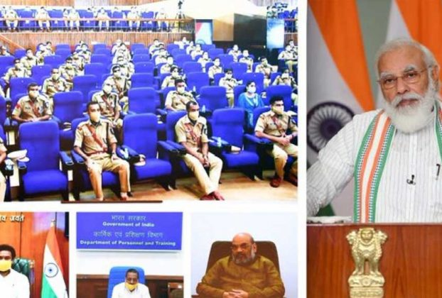 pm modi interacts with ips probationers