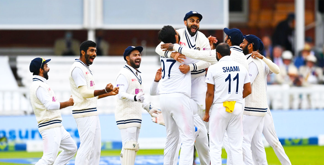 India beat England by 151 runs to take 1-0 lead in 5-match series