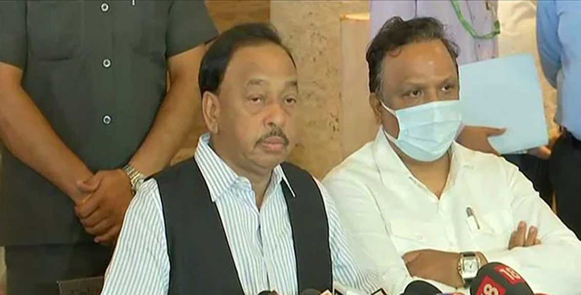 union minister narayan rane press conference over arrest