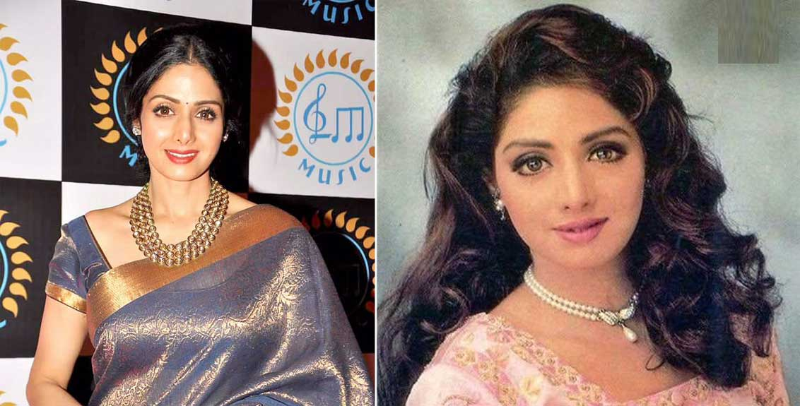 Some special things related to Padma Shri honored actress Sridevi