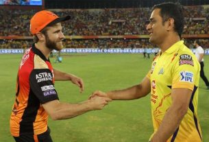 Today's match between Chennai Super Kings and Sunrisers Hyderabad