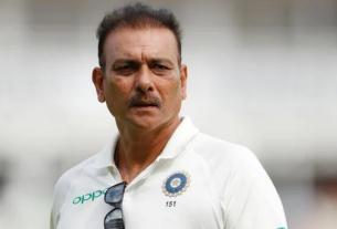 Ravi Shastri tests positive