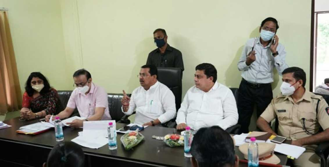 Order to inspect the agricultural center in Chandrapur district