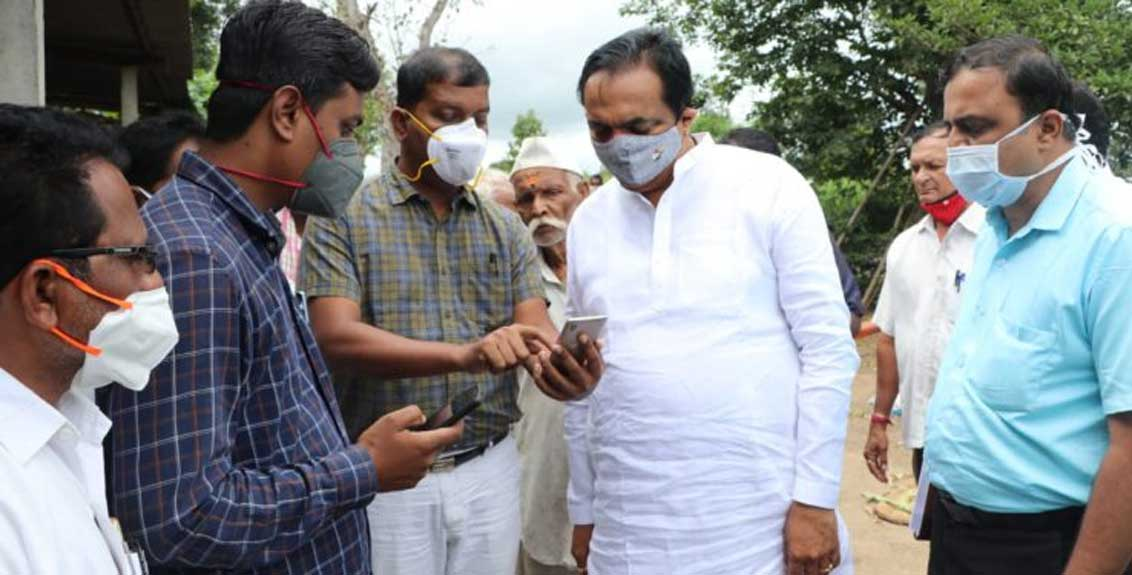Farmers should register in large numbers on e-crop survey app - Guardian Minister Jayant Patil