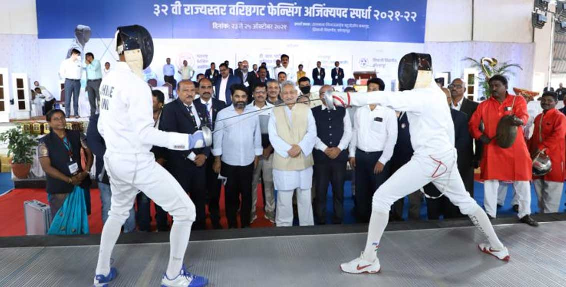 Dedicated halls will be constructed for fencing in five districts of the state